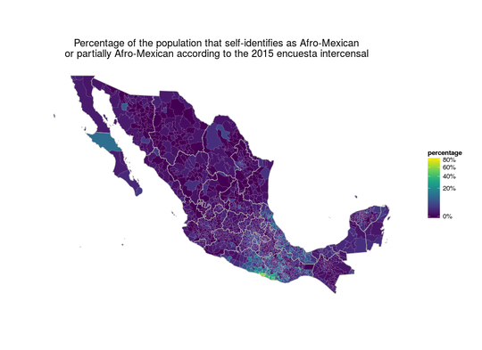 Icono Mapa Mexico Png: Mexico's Black Population