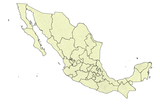 States and municipios of Mexico
